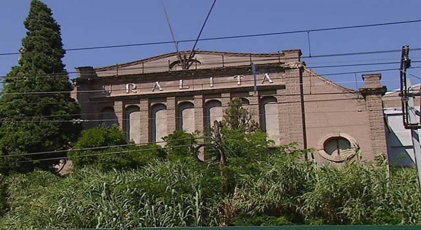 Fàbrica de l'antiga Uralita a Cerdanyola