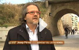 Josep Pérez, advocat del grup Laboral del Col·lectiu Ronda participa al reportatge de 'Valor afegit' sobre la discriminació laboral per raons d'edat