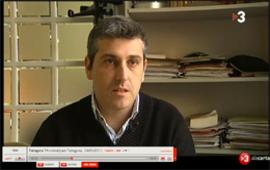 L'advocat oscar Serrano entrevistat al Telenotícies de TV3